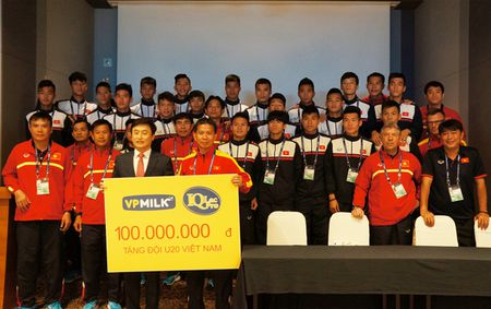 U20 Viet Nam duoc tiep lua truoc gio ra quan tai U20 World Cup - Anh 1