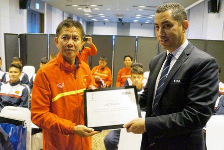 U20 Viet Nam duoc tiep lua truoc gio ra quan tai U20 World Cup - Anh 2