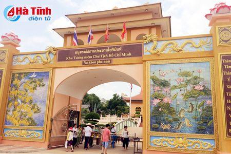 Tham Khu luu niem Bac Ho tai Nakhon Phanom - Anh 1