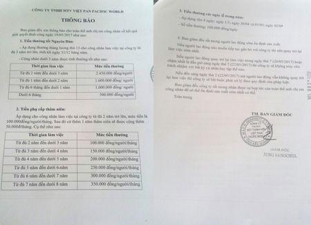 Vu hang tram cong nhan dinh cong duoi mua o Bac Giang: Nguyen vong cua nguoi lao dong da duoc dap ung - Anh 1