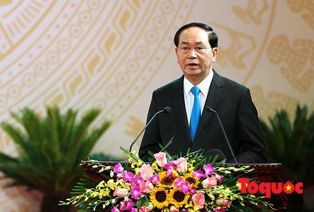 Trang trong le trao Giai thuong Ho Chi Minh, Giai thuong Nha nuoc ve Van hoc nghe thuat - Anh 3
