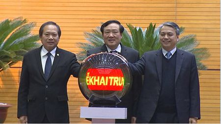 VNPT day nhanh tien do xay dung Chinh phu dien tu - Anh 1