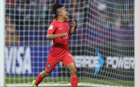 U20 Han Quoc 'de bep' U20 Guinea trong ngay ra quan - Anh 1