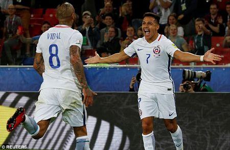 Chile danh bai Cameroon, cho doi dau nha vo dich the gioi Duc - Anh 1