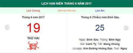 Am lich hom nay (19.6): Nhung viec khong nen lam? - Anh 1