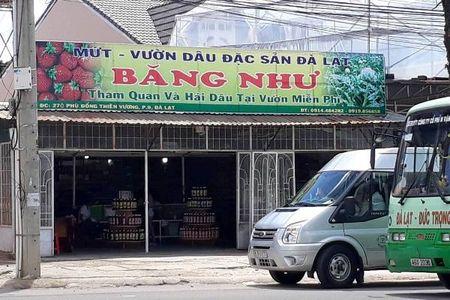 Chu quay dac san Da Lat hanh hung du khach bi phat 2,5 trieu - Anh 1