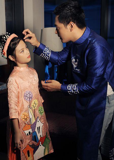 MC Phan Anh an can cham soc con gai lam mau nhi - Anh 2
