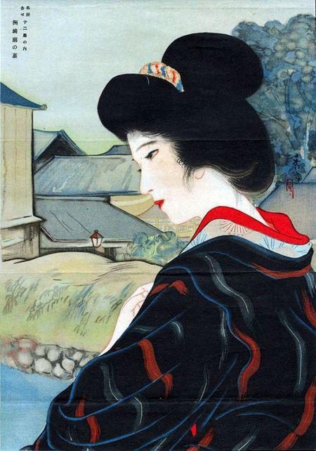 Am anh bo kimono khien thu do Tokyo xua bi thieu rui - Anh 7