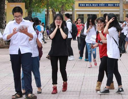 Thi THPT Quoc gia 2017: Lich thi va nhung dieu thi sinh can luu y - Anh 2