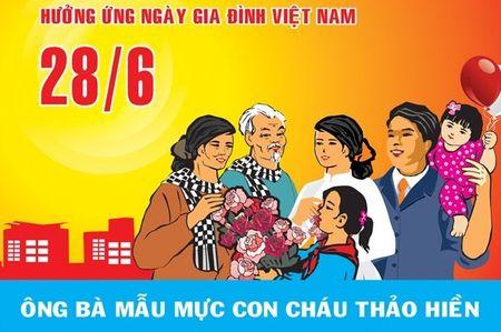 Ngay gia dinh Viet Nam 2017 la ngay nao? - Anh 1