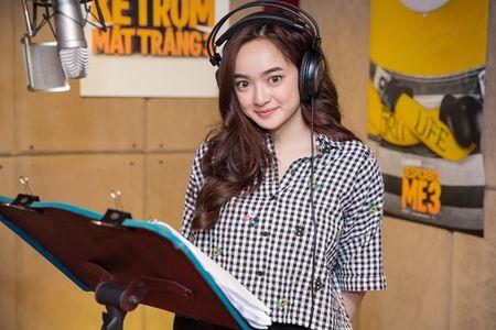Kaity Nguyen long tieng phim hoat hinh 'Ke trom mat trang' - Anh 1