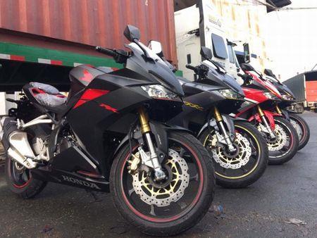 Can canh Honda CBR250RR gia tren 200 trieu dong vua ve Viet Nam - Anh 1