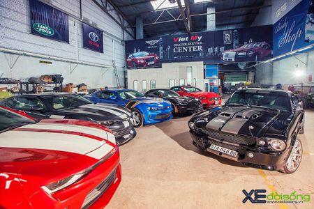 Dan my nu Sai Gon do dang voi Mustang, Camaro va Corvette - Anh 11