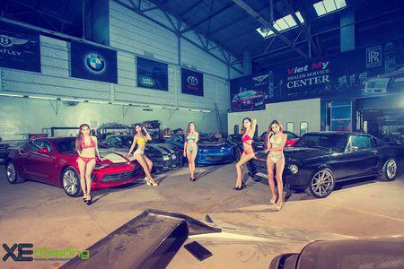 Dan my nu Sai Gon do dang voi Mustang, Camaro va Corvette - Anh 3