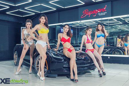 Dan my nu Sai Gon do dang voi Mustang, Camaro va Corvette - Anh 7