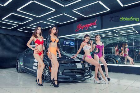 Dan my nu Sai Gon do dang voi Mustang, Camaro va Corvette - Anh 8