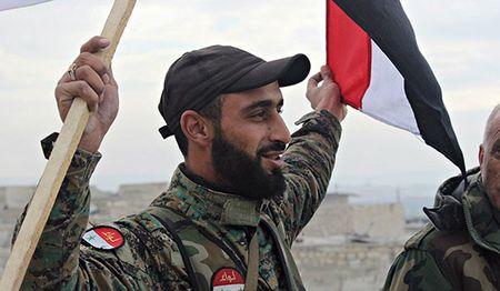 Dong Hama: Quan doi Syria giao tranh du doi, IS mat ca nguoi va xe - Anh 1