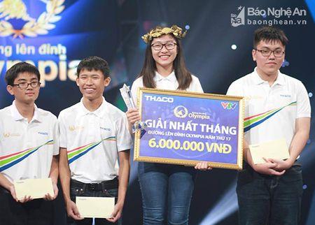 Nu sinh xinh dep truong Chuyen DH Vinh lot vao cuoc thi quy Duong len dinh Olympia - Anh 1