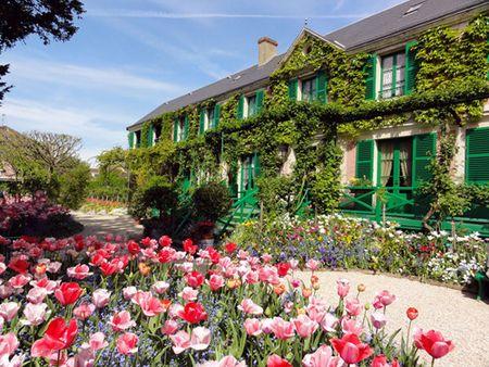 Givenchy & khu vuon cua danh hoa Monet - Anh 3