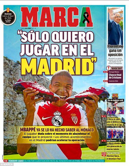 Mbappe tuyen bo chi muon toi Real truoc tin don Ronaldo se roi Bernabeu - Anh 1