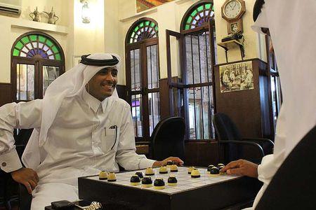 Ghe tham quan co dama o Qatar vua bi cac nuoc vung Vinh don ep - Anh 17