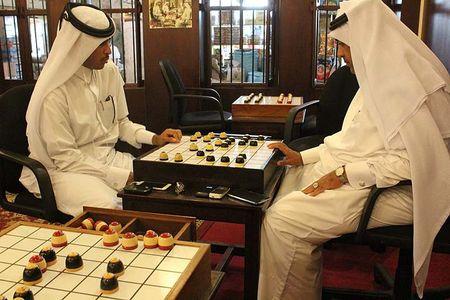 Ghe tham quan co dama o Qatar vua bi cac nuoc vung Vinh don ep - Anh 20