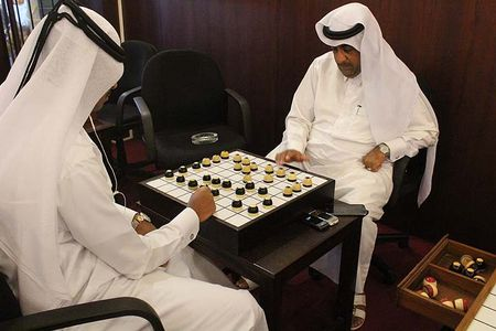 Ghe tham quan co dama o Qatar vua bi cac nuoc vung Vinh don ep - Anh 4