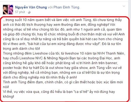 Dong nghiep buc xuc benh Phan Dinh Tung sau scandal bat nat dan em - Anh 3