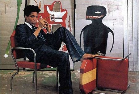Buc tranh ve phan biet chung toc cua Basquiat gia 110,5 trieu do - Anh 2