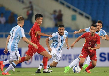 U23 Viet Nam tong dong vien luc luong du vong loai U23 chau A - Anh 1
