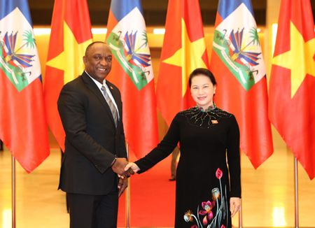 Thuc day hop tac tren nhieu linh vuc giua Viet Nam va Haiti - Anh 1