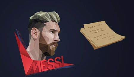 Buc thu dam nuoc mat nguoi ham mo gui tang Messi - Anh 1