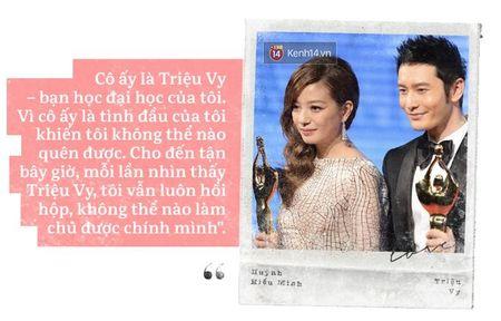 Huynh Hieu Minh - Trieu Vy: Co mot moi luong duyen mang ten 'to tinh that bai' - Anh 1