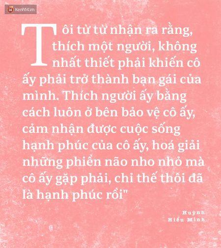 Huynh Hieu Minh - Trieu Vy: Co mot moi luong duyen mang ten 'to tinh that bai' - Anh 4