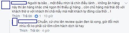 Cong dong mang xon xao vu khach hang lao vao danh chui nhan vien quan che tren pho Ha Noi - Anh 1