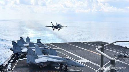Cuoc song 'khong nhu mo' tren tau san bay My USS Ronald Reagan - Anh 10