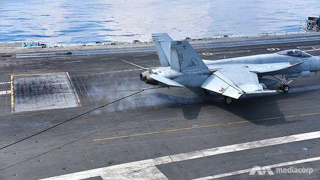 Cuoc song 'khong nhu mo' tren tau san bay My USS Ronald Reagan - Anh 11