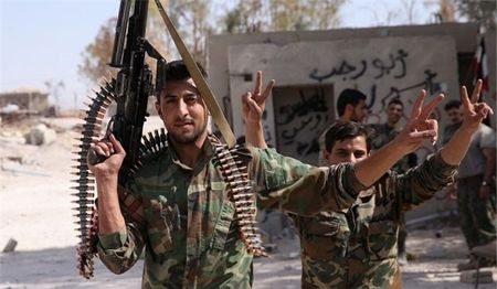 IS khon don sau don tan cong cua Syria o Damascus - Anh 1