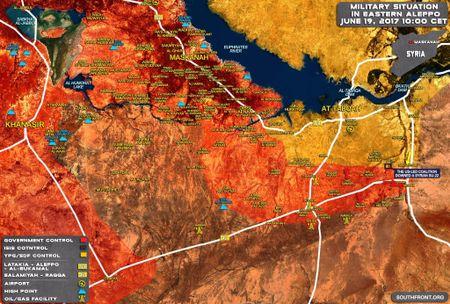 'Ho Syria' de bep IS chiem thi tran chien luoc o Raqqa, pha ke hiem My - Anh 1