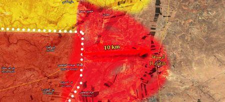 'Ho Syria' de bep IS chiem thi tran chien luoc o Raqqa, pha ke hiem My - Anh 4