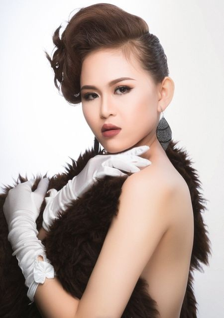 Can canh nhung nguoi dep vao ban ket Hoa khoi Nam Bo 2017 (P2) - Anh 13