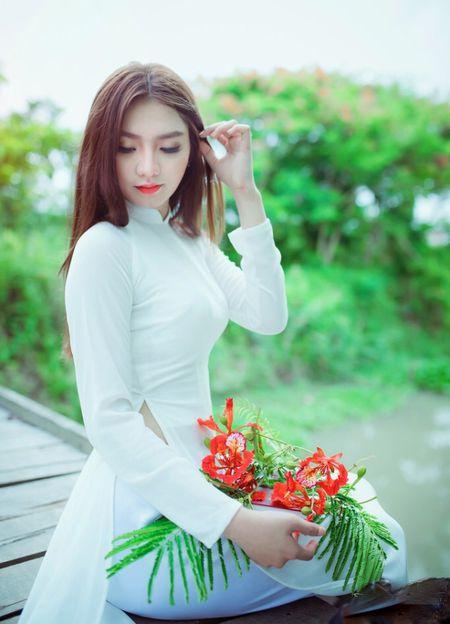 Can canh nhung nguoi dep vao ban ket Hoa khoi Nam Bo 2017 (P2) - Anh 9