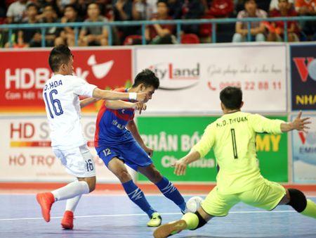 Futsal Khanh Hoa quyet 'don nga' Thai Son Nam o giai VDQG 2017 - Anh 1