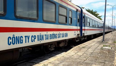 """Duong sat co them tau """"5 sao"""" tuyen Sai Gon – Nha Trang - Anh 1"""