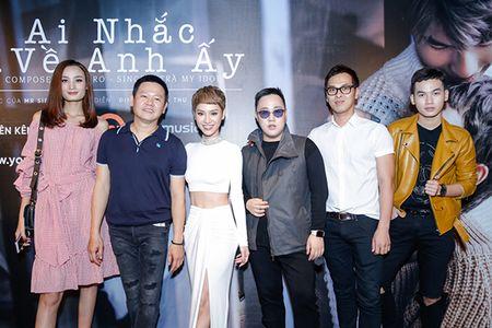 Ha Tang va dan sao Viet hao hung chuc mung MV moi cua Tra My Idol - Anh 6