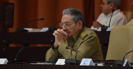 Chu tich Cuba chi trich ong Trump - Anh 1