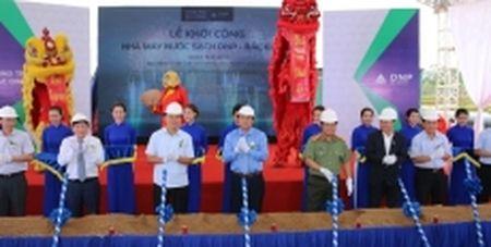 Xay dung nha may nuoc sach lon nhat Bac Giang - Anh 1