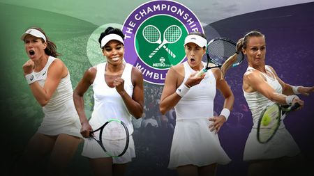 Ha Venus Williams voi 2 set trang, Garbine Muguruza vo dich don nu Wimbledon - Anh 1