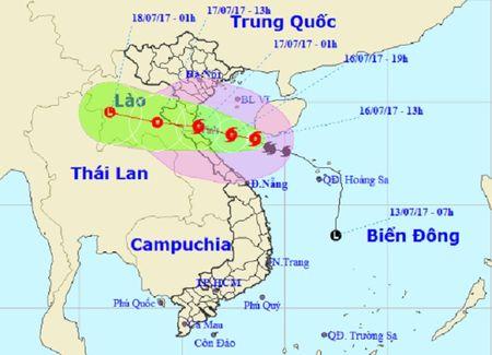 Dem nay, bao so 2 giat cap 12 do bo Thanh Hoa – Ha Tinh - Anh 2