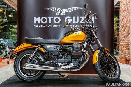 Moto Guzzi 2017 ra mat tai Malaysia gia tu 354 trieu dong - Anh 1